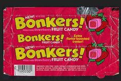 These were so gross. I'm pretty sure they were just made out of wax. Yet I still ate them.
