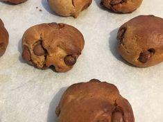 Easy Healthy Vegan Cookies Healthy Vegan Cookies, Stuffed Mushrooms, Muffin, Chocolate, Vegetables, Breakfast, Easy, Desserts, Food