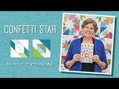 Material Girlfriend's Confetti Star Quilt