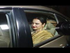 Rekha at screening of Anushka Sharma's new movie PHILLAURI. Anushka Sharma News, New Movies, Gossip, Interview, Photoshoot, Music, Youtube, Photo Shoot, Muziek