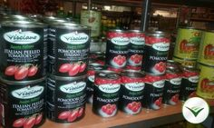 Peeled Tomatoes  and Cherry Tomatoes  Visciano - Sapore Italiano are available at the Flamingo Market at Flamingo South Beach Center Tower, 1508 Bay Rd, Miami Beach, FL 33139. For info and distribution write an e-mail to info@visciano.it !  Please visit www.visciano.it !