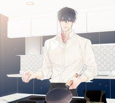 Jas's father's brother - professional chef in the city Anime Boys, Manga Anime, Hot Anime Boy, Cute Anime Guys, Manga Drawing, Manga Art, Arte Indie, Anime Poses Reference, Handsome Anime Guys
