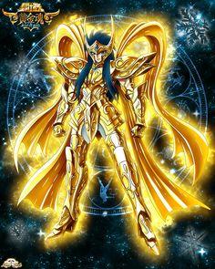 Aquarius No Camus God Cloth by Niiii-Link on DeviantArt Aphrodite, Knights Of The Zodiac, Character Wallpaper, Sasunaru, In Ancient Times, Animes Wallpapers, Deviantart, Japan Art, Manga Games