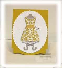 SU Pop N Cuts Dress Form by fsabad - Cards and Paper Crafts at Splitcoaststampers