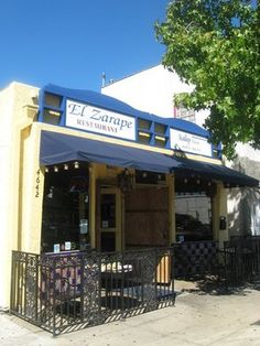 El Zarape - (Mexican, Seafood) - 4642 Park Blvd (between Madison Ave & Spalding Pl) San Diego, CA 92116 - P: (619) 692-1652 - Price Range: $