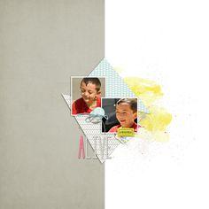 Layouts, Polaroid Film, Swimming, Templates, Kit, Shop, Design, Swim, Stencils