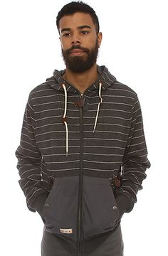 The Classic Zip-Up Hoody in CharcoalGrey M L S