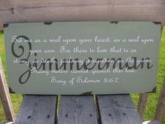 Song of Solomon Bible verse, customized name