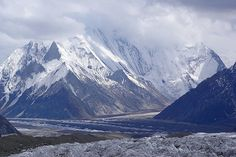 Concordia The North Pakistan Gilgit /Baltistan area  situated at the inter-section of four of the worlds mightiest mountain ranges, the Hindukush, Himalayas, Karakorum and Pamirs .