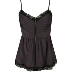 Risque Lace Trimmed Woven Top ($6.99) ❤ liked on Polyvore featuring tops, shirts, tank tops, blusas, women, pintuck shirt, forever 21 tank tops, purple shirt, sexy shirts and forever 21 shirts