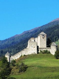 Heinfels castle in East Tyrol-Austria.