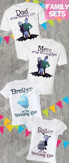 4241a3f0 13 Best Family Birthday Shirts images | Family birthday shirts ...