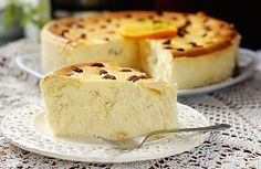 Air casserole without flour and semolina