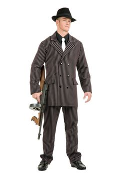 Gangster Adult Men Costume  #couple costumes #halloween couple costumes
