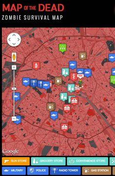 Zombie Google Maps.