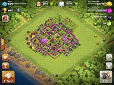 Learn the best town hall level 7 defense for clash of clans. http://ultimateclashofclansguide.com/base-designs/level-7/ #clashofclans #baselayout >> town hall level 7 defense --> http://ultimateclashofclansguide.com/base-designs/level-7/