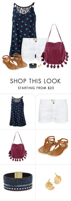 """""""Untitled #550"""" by kajones722 ❤ liked on Polyvore featuring Fat Face, Current/Elliott, Jean-Michel Cazabat, Topshop, Elise M. and Alex Monroe"""