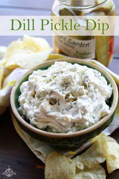 Dill Pickle Dip - Pinterest