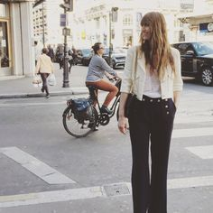 Paris VI Chanel Jacket, Carolina Herrera trousers