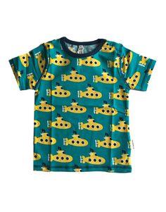 maxomorra yellow submarine short sleeve t-shirt - Click Image to Close