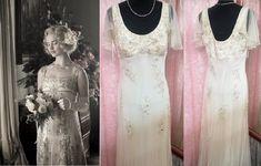 1920s Style Wedding Dresses, Gatsby Wedding Dress, Peaky Blinders Dress, Bias Cut Dress, Glamorous Dresses, 1920s Dress, Embellished Dress, Special Occasion Dresses, Vintage Dresses