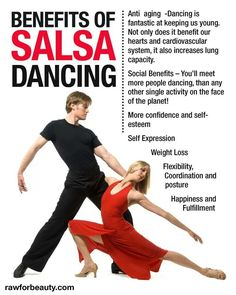Benefis of Salsa dancing -♪♫ www.pinterest.com/wholoves/Dance ♪♫ #dance
