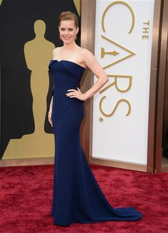 Work it, #AmyAdams. She is a vision in #navyblue #Gucci. See more #hot stars at the #Oscars on Wonderwall: http://on-msn.com/1dR67ex