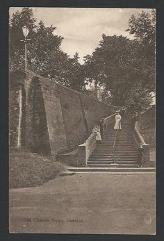 Beccles Church Steps c.1908
