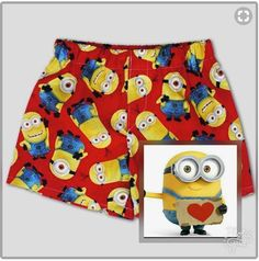 These handmade cute little boy boxers are made in the USA, 100% cotton, great to excite your little one about Potty Training! They are comfy, with a loose fit, faux fly and are perfect for day-to-night wear.  One pair of 100% cotton boxers. #fashion #boy #christmas #christmasgifts #xmas #minion #minionslove #minionmovie #minionsparty #handmade #ebay #ebayseller #shopping #kids #moms #momslife