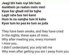 Baatein ye kabhi na tu bhoolna (khamoshiyan by Arijit Singh) Movie Dialogues, Cool Lyrics, Jokes Quotes, In My Feelings, Crying, Funny Jokes, Songs, Husky Jokes, Husky Jokes