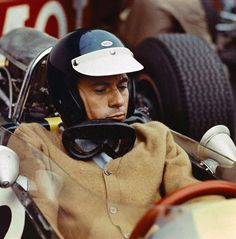 Jim Clark (GBR) (Team Lotus), Lotus 33 - Coventry-Climax FWMV 1.5 V8, #5 (RET) United States Grand Prix, Watkins Glen, 1965.