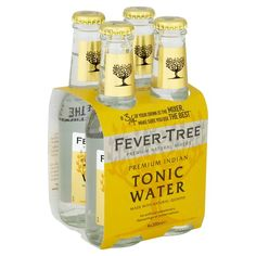 ... Fever-Tree Indian Tonic Water Fever Tree Indian Tonic, Fever Tree Tonic Water, Book Bar, Best Gin, Cocktail Mixers, Spring Water, Gin And Tonic, Bottle Design, Cool Things To Make