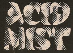 Acid Mist - record label (1971-73)