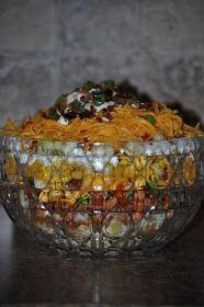 Fiddle Dee Dee: Scrumptious Cornbread Salad
