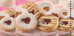 receta masitas alemanas Recericas recta masitas alemanas Brownie Cookies, Cupcake Cookies, Sugar Cookies, Sweet Desserts, Sweet Recipes, Cookie Recipes, Dessert Recipes, Fancy Cookies, Cafe Food