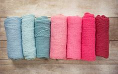 How to make newborn cheesecloth wraps for photo shoots (totally affordable and…