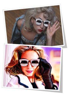 Lady Gaga wears Mercura Sunglasses