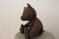 Burel Teddy Bear created by artist Conceição Abreu.
