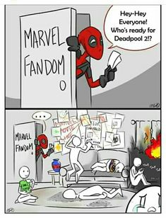 Marvel Fandom in a nutshell