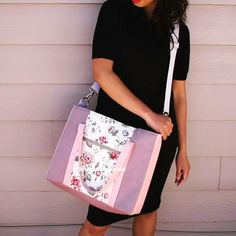 Diy Bags Patterns, Purse Patterns, Sewing Projects For Beginners, Sewing Tutorials, Tutorial Sewing, Diy Bag Designs, Diy Bags Purses, Bag Pattern Free, Patchwork Bags