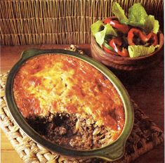 Traditional Best of African Recipes Recipe for Bobotie. South African Dishes, West African Food, South African Recipes, Africa Recipes, Ethnic Recipes, Cookbook Recipes, Gourmet Recipes, Beef Recipes, Mince Recipes