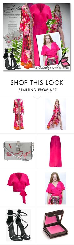 """Win a free Shahida Parides dress"" by astromeria ❤ liked on Polyvore featuring Dolce&Gabbana, Giuseppe Zanotti, Jouer, Givenchy and ShahidaParides"