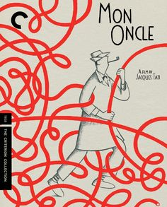 Mon Oncle Tati, Mon Oncle Jacques Tati, Tati Jacques, First Color Film, Book Design, Cover Design, The Criterion Collection, Movies And Series, Cinema Posters