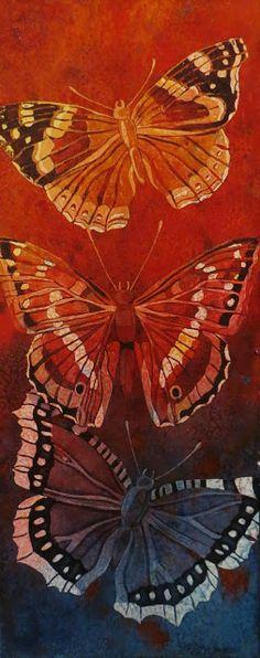 The Painted Prism: WATERCOLOR WORKSHOP: Butterfly Batik
