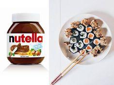 Bye-bye, Nutella-Burger – jetzt kommt das Nutella Sushi!