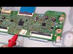 Sony Led Tv, Tv Led, Samsung Remote, Samsung Tvs, Diy Electronics, Electronics Projects, Power Supply Circuit, Tv Panel, Led Board