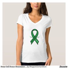 Stem Cell Donor Awareness Ribbon T Shirt