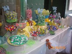 candy buffet table decorations