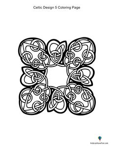 Kidscanhavefun Coloring Pages Celtic5coloringpage