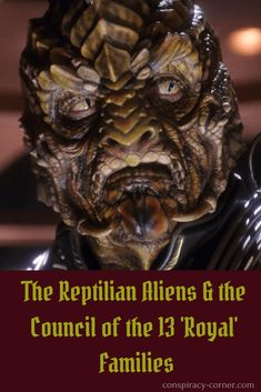 The Reptilian Aliens and the Council of the 13 'Royal' Families Aliens And Ufos, Ancient Aliens, Draco, Reptilian People, Alien Races, Demonology, Alternate History, Conspiracy Theories, Stargate